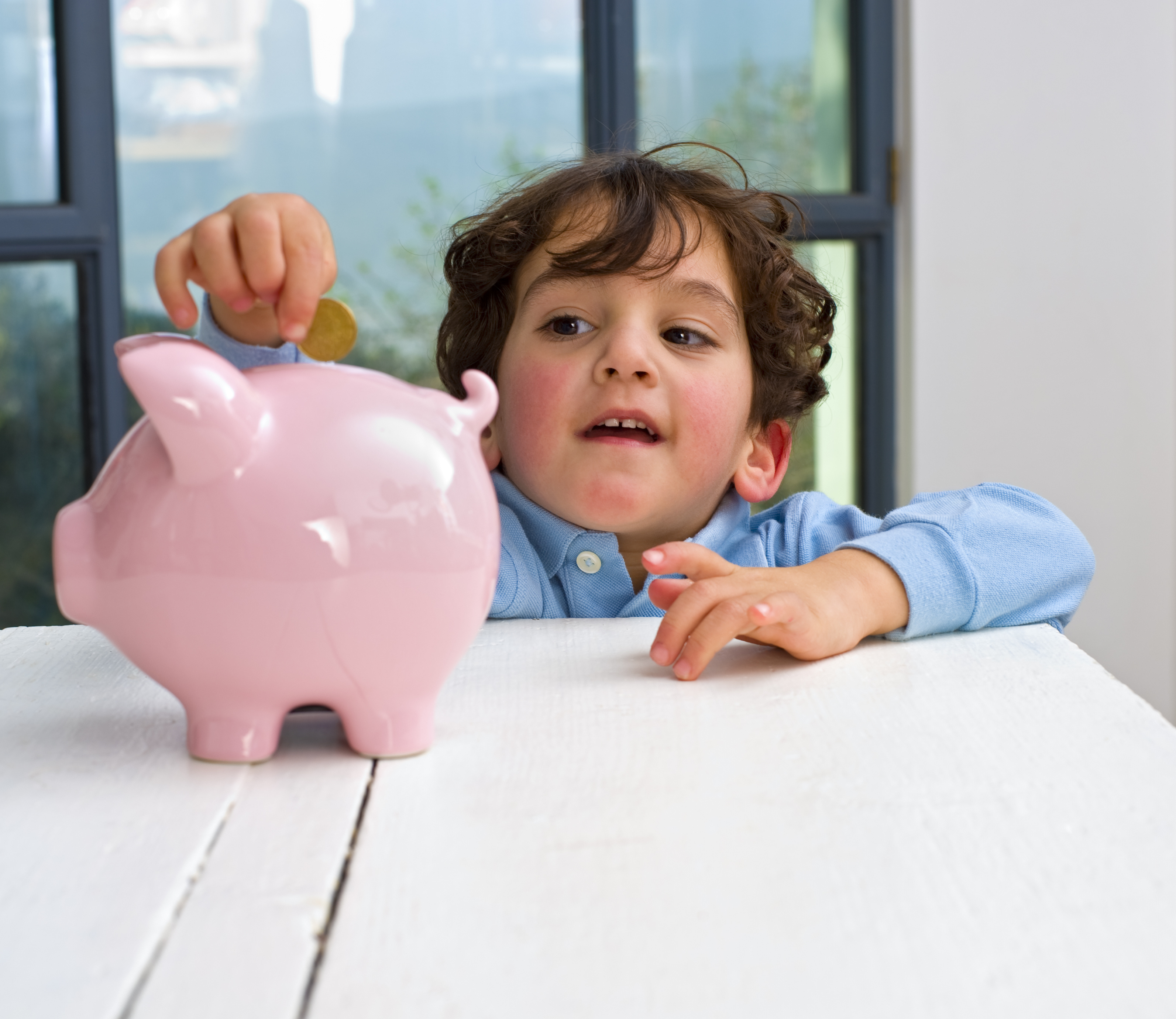 Piggy Bank. The concept of saving money is one which everyone will be familiar with. Almost everybody will understand that to buy things which you want, you need money. To have enough money, you will need to save a little. Therefore the earlier your child understands this idea of saving, the better their understanding will develop.