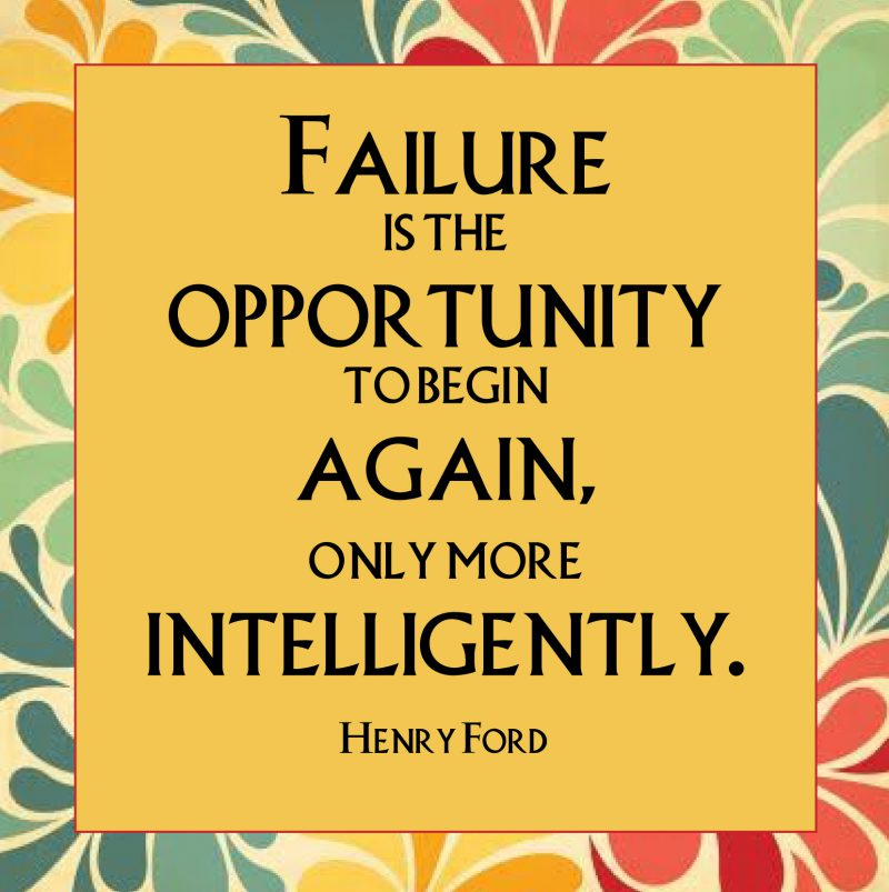 Failure, Innovation and Success. How are they linked?
